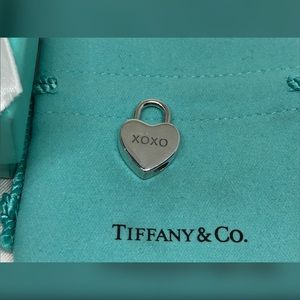 Tiffany Silver XOXO Heart Lock - Retired EUC